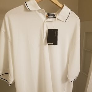 NWTLARGE White nike golf polo shirt s